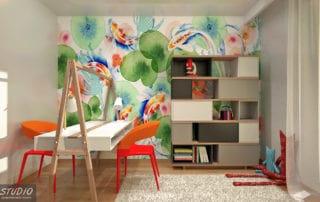 pokój dziecięcy - projekt