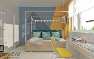 pokój dziecięcy projekt